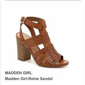 NIB Madden girl reine strappy block heel sandals